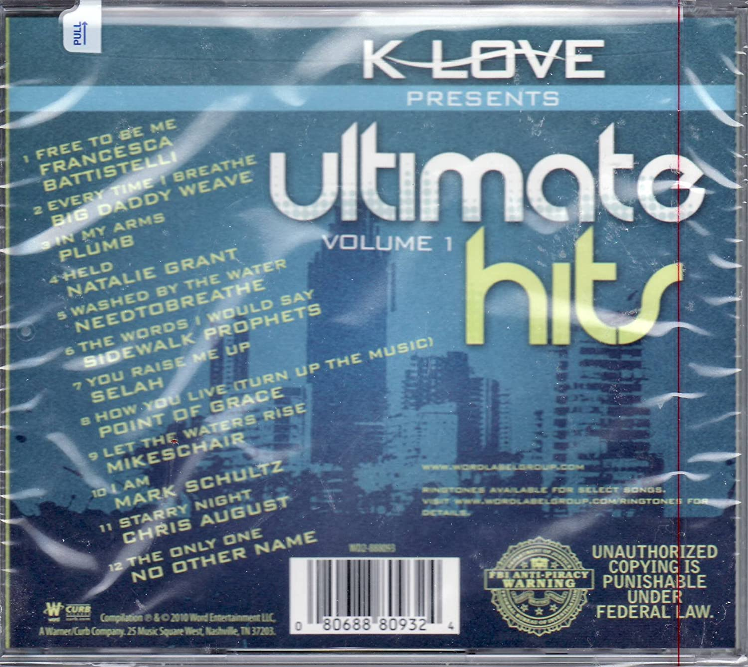 K-Love Presents Ultimate Hits Volume 1 CD - Amazon.com Music