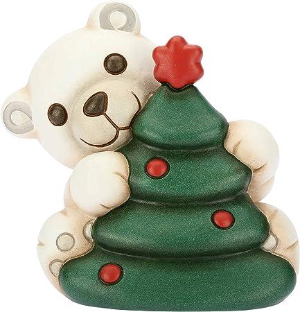 Natale Thun.Thun Orso Polare Con Albero Di Natale Formato Piccolo Ceramica 11 2x9 1x10 8 Cm H Amazon It Casa E Cucina