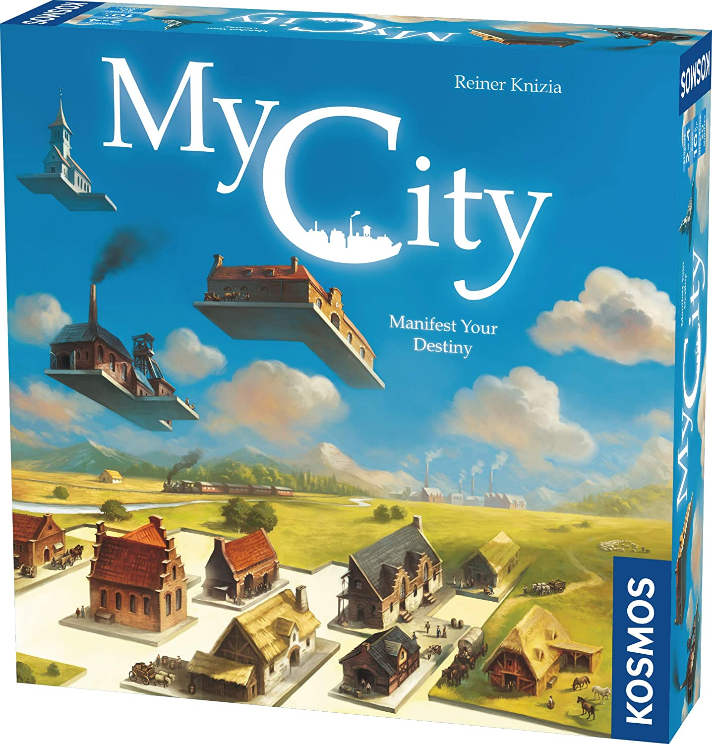 My City | Family – Friendly | Legacy Board Game | Kosmos Games | 2 to 4 Players | Ages 10 and Up | Award Winning Designer Reiner Knizia