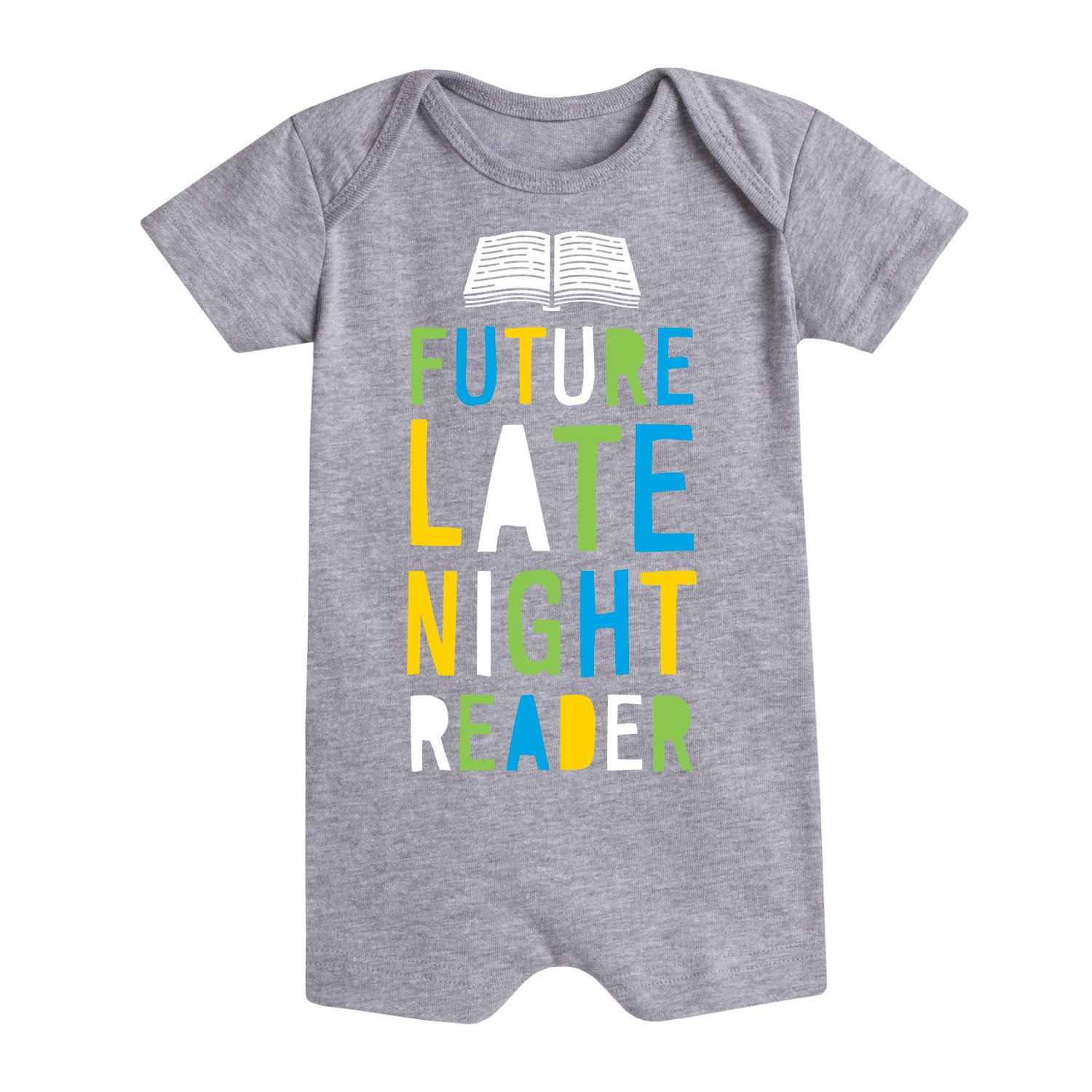 Future Late Night Reader Infant Romper