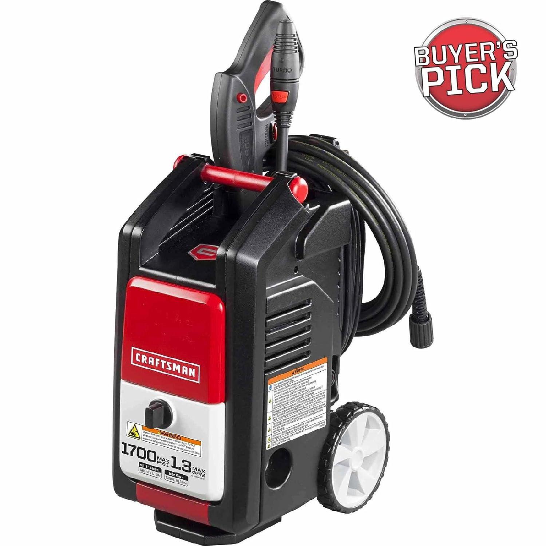 Amazon Craftsman 1 700 PSI 1 3 GPM Electric Pressure Washer
