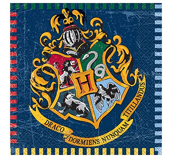 Unique Party 59106, Vaso de Papel con Diseño de Harry Potter, Pack of 8