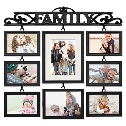 Pilares 8 Colgar Abrir Familia De Collage Marco Falta Contiene Seis