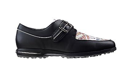 FootJoy Tailored Collection Womens Golf Shoes 91651 Black Graffiti - 5  Medium a3cbadf0c58