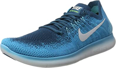 Nike Free Run Flyknit 2017, Zapatillas de Entrenamiento para ...