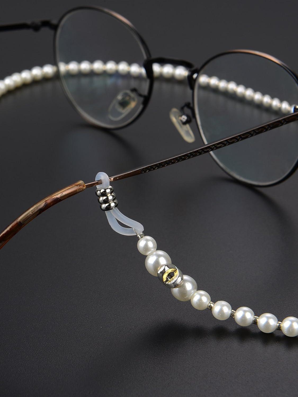 Hicarer 2 Piezas Cadena de Gafas de Abalorios Cordón de Retenedor de Gafas de Sol
