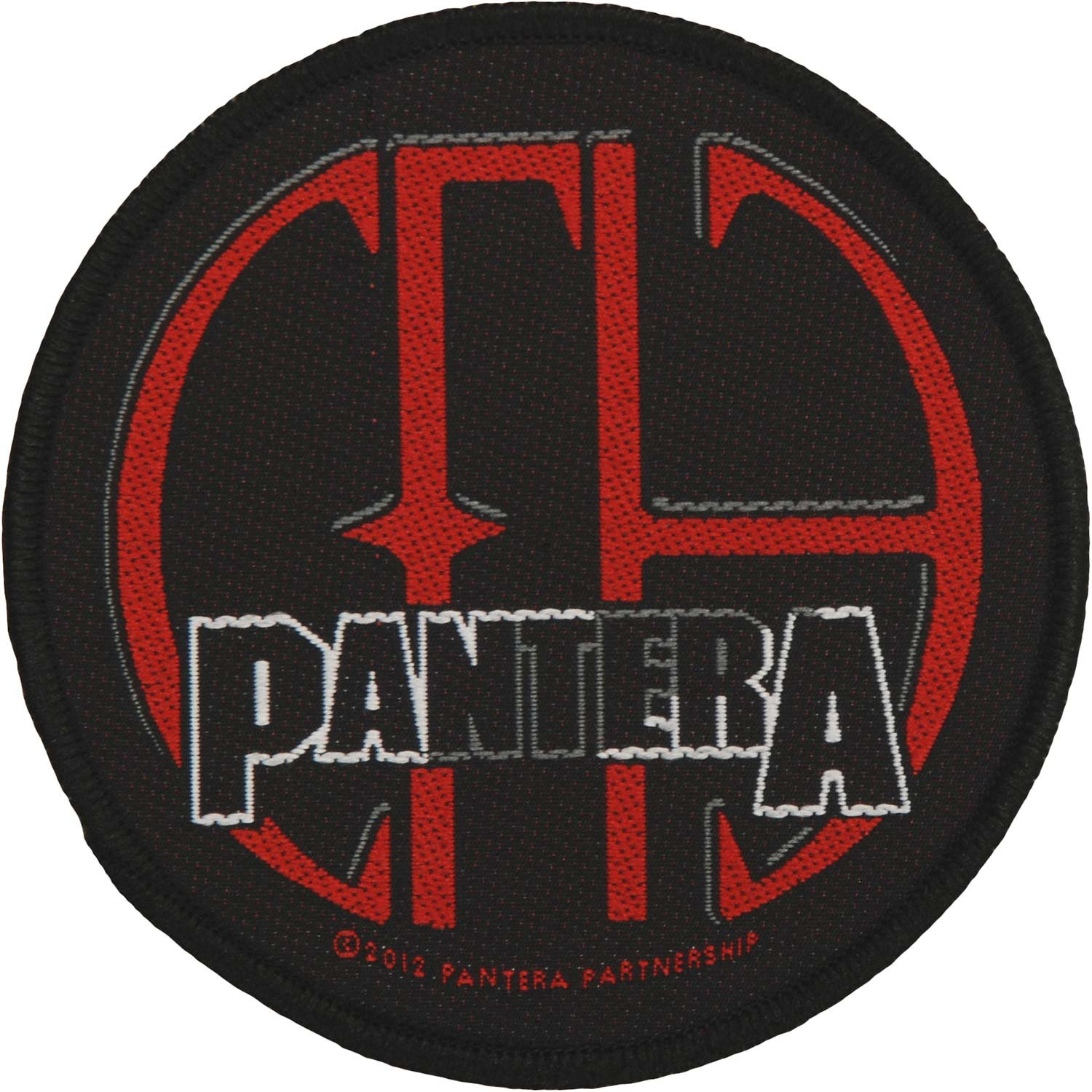 Pantera Men's CFH Woven Patch Black ROCK OFF RAZAMATAZ