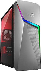 ROG Strix GL10DH Gaming Desktop PC, AMD Ryzen 5 3400G, GeForce GTX 1650, 8GB DDR4 RAM, 512GB PCIe SSD, Wi-Fi 5, Windows 10 Home, GL10DH-PH552