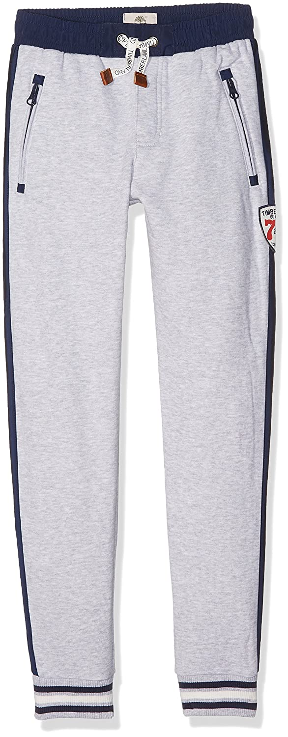 Timberland Boy's De Jogging Training Pants Grey (GRIS Chine A32) 8 Years T24976