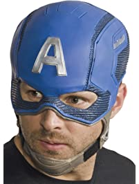 Rubies Costume Men's Captain America Civil War Full Vinyl Mask