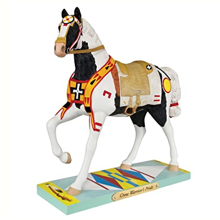 Trail of Painted Ponies Crow Warrior s Pride Horse Figurine 4049714 Pony New