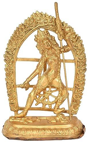 Vajrayogini Tibetan Buddhist Deity – Brass Statue