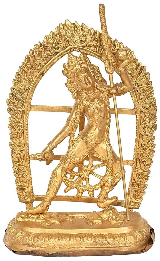 Vajrayogini (Tibetan Buddhist Deity) - Brass Statue