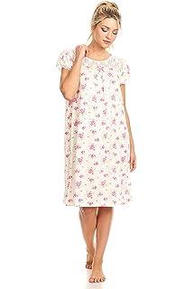 8790330959 Lati Fashion Women Nightgown Sleepwear Pajamas Sleeveless Sleep Nightshirt