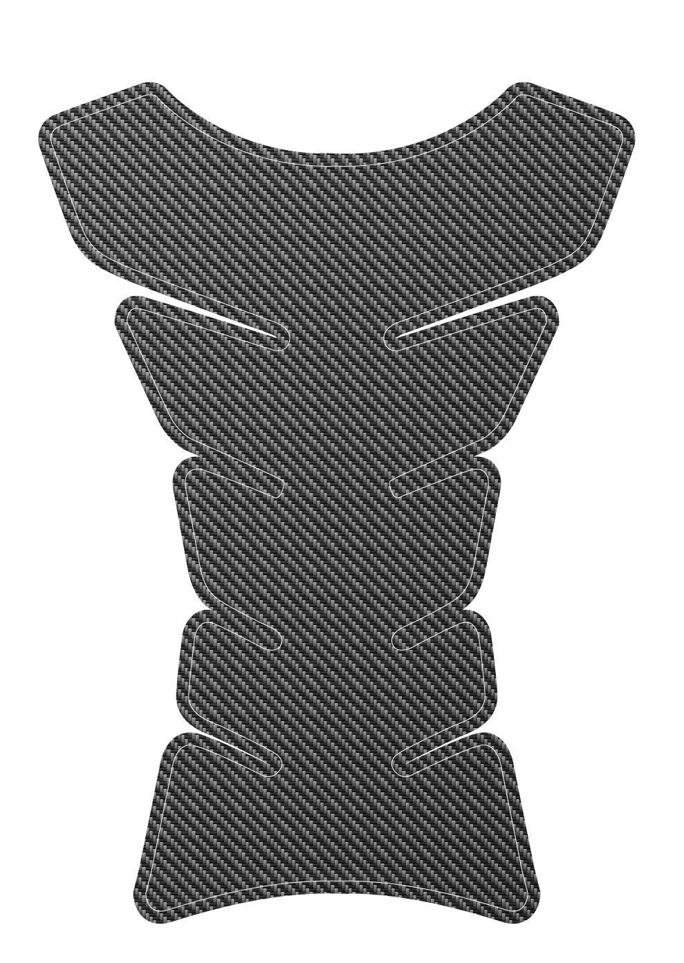 Carbon Universal Protective Fuel Tank Pad for Motorbikes 3D Studio CC008