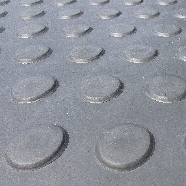 Tapis de protection 1 x 24mm noir /à carreaux Cheval Stable