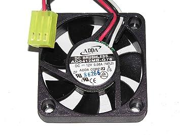 ADDA 40 * 40 * 10 ad0412mb-g76 12 V: Amazon.de: Elektronik