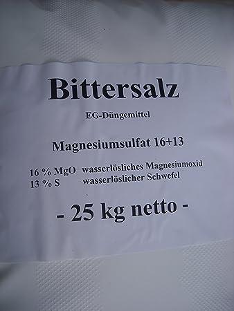 Espotop Bittersalz 25 Kg Nadelholzdunger