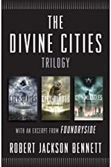 The Divine Cities Trilogy: City of Stairs, City of Blades, and City of Miracles, with an excerpt from Foundryside Kindle Edition