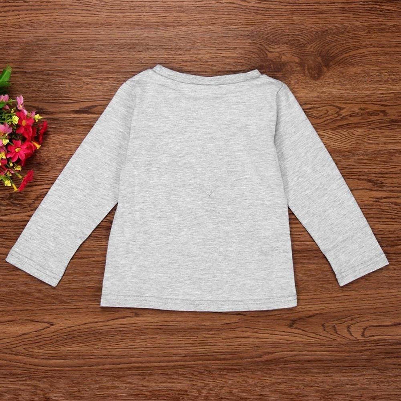 f2be822facef0 Amazon.com  Efaster Cute Baby Boy Girl Cute Eyelash Print T-shirt Tops+Pants  Outfits Clothes  Beauty