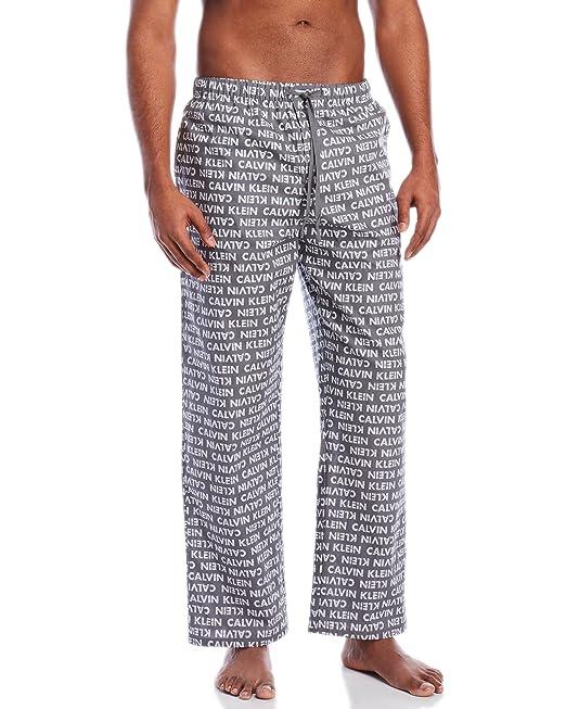 Calvin Klein Men`s Woven Sleepwear PJ Pants at Amazon Mens Clothing store: