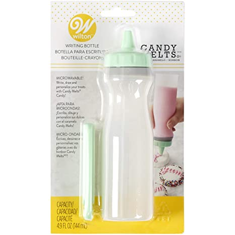 Amazon.com: Candy Melts Silicone Writing Bottle by Wilton ...