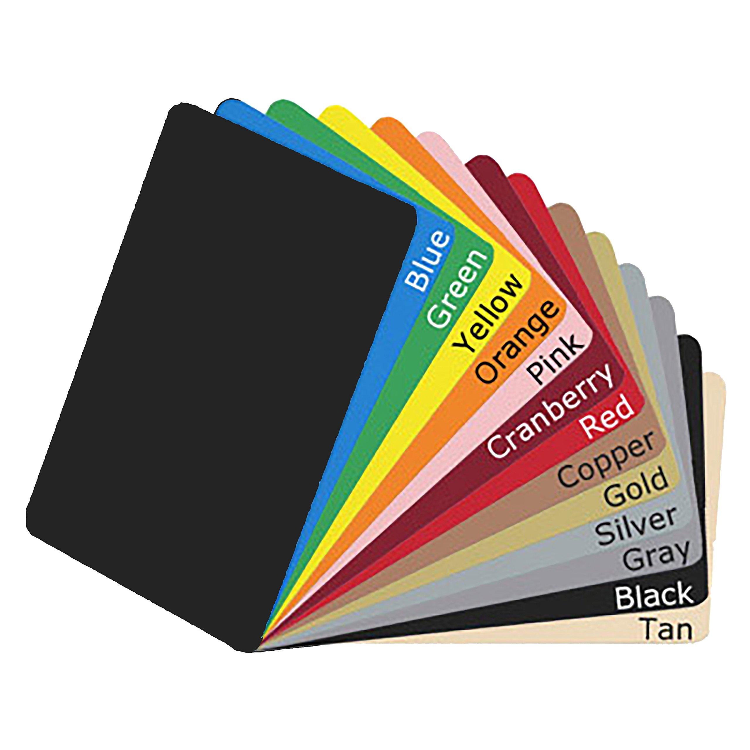 100 Black CR80 HiCo PVC Magnetic Stripe Cards -POS-Depot Brand Cards