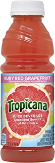 product image for Tropicana Ruby Red Grapefruit Juice Drink, 15.2 fl oz Bottles, (Pack of 12)