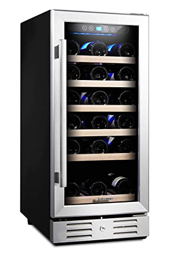 Kalamera-15-Inch-30-Bottle-Under-Counter-or-Freestanding-Wine-Fridge