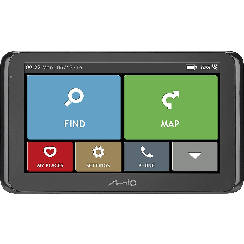 Mio Spirit 5400 Full Europe - Navegador GPS MISP5400LMFE