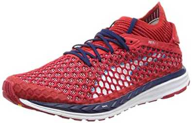 PUMA Speed Ignite Netfit Running Shoes - AW17-9 - Red 88843915d
