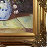 overstockArt Grande Vase Di Fiori by Pierre-Auguste