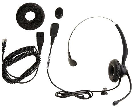 Yealink yhs33 – Auricular monoaural con micrófono (con Noice Cancelling
