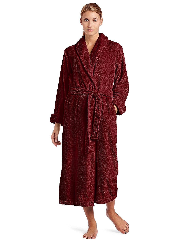 Deep Plum Casual Moments Women's Wrap Robe