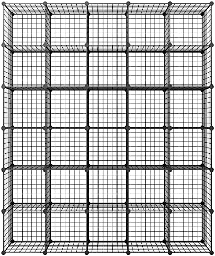 KOUSI 14″x14″ Wire Cube Storage