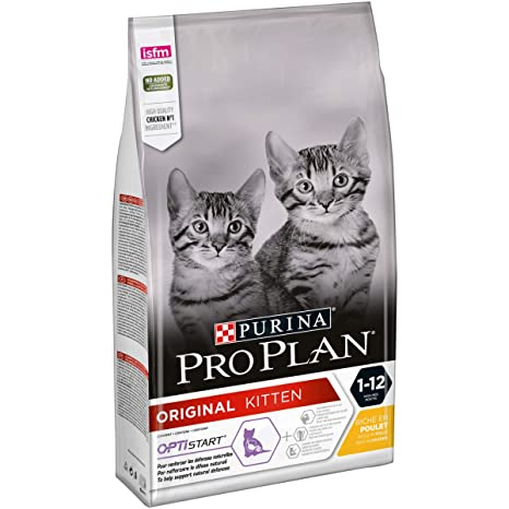 PURINA Pro Plan Comida Seco para Gato Junior con Optistart, Sabor Pollo - 1.5 Kg
