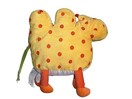 Barnsling Kamel Plush-Peluche de camello, de dromedario, diseño de lunares rojos-