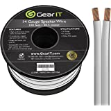 GearIT Pro Series - Cable de altavoz de calibre 14 AWG (30,48 metros), gran uso para altavoces de cine en casa y altavoces de