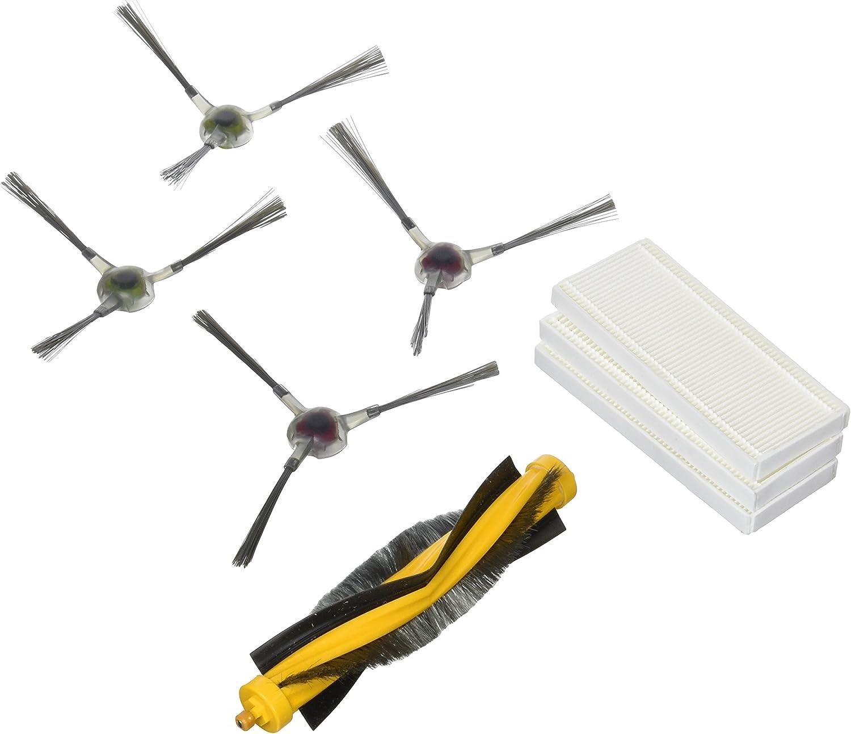 Ecovacs DR95-KTA Kit de Repuestos para Deebot R95, Negro, Gris ...