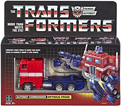 New Transformers G1 Optimus prime reissue Mint metal front ACTION FIGURE Black