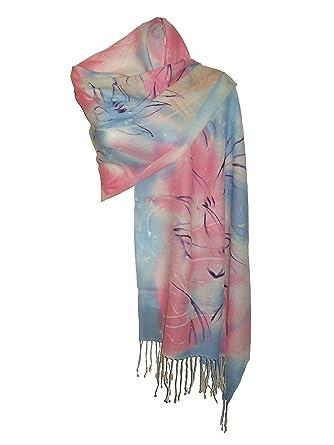 896ddbcaea08 itendance Etole femme 100% laine - écharpe chale multicolore - idée cadeau