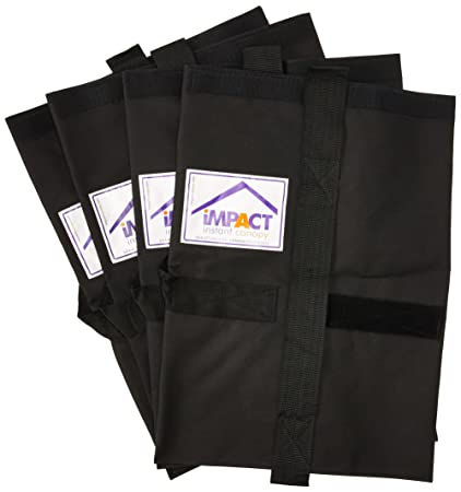 Impact Canopy 4 Weight Bags, Canopy Tent Weights
