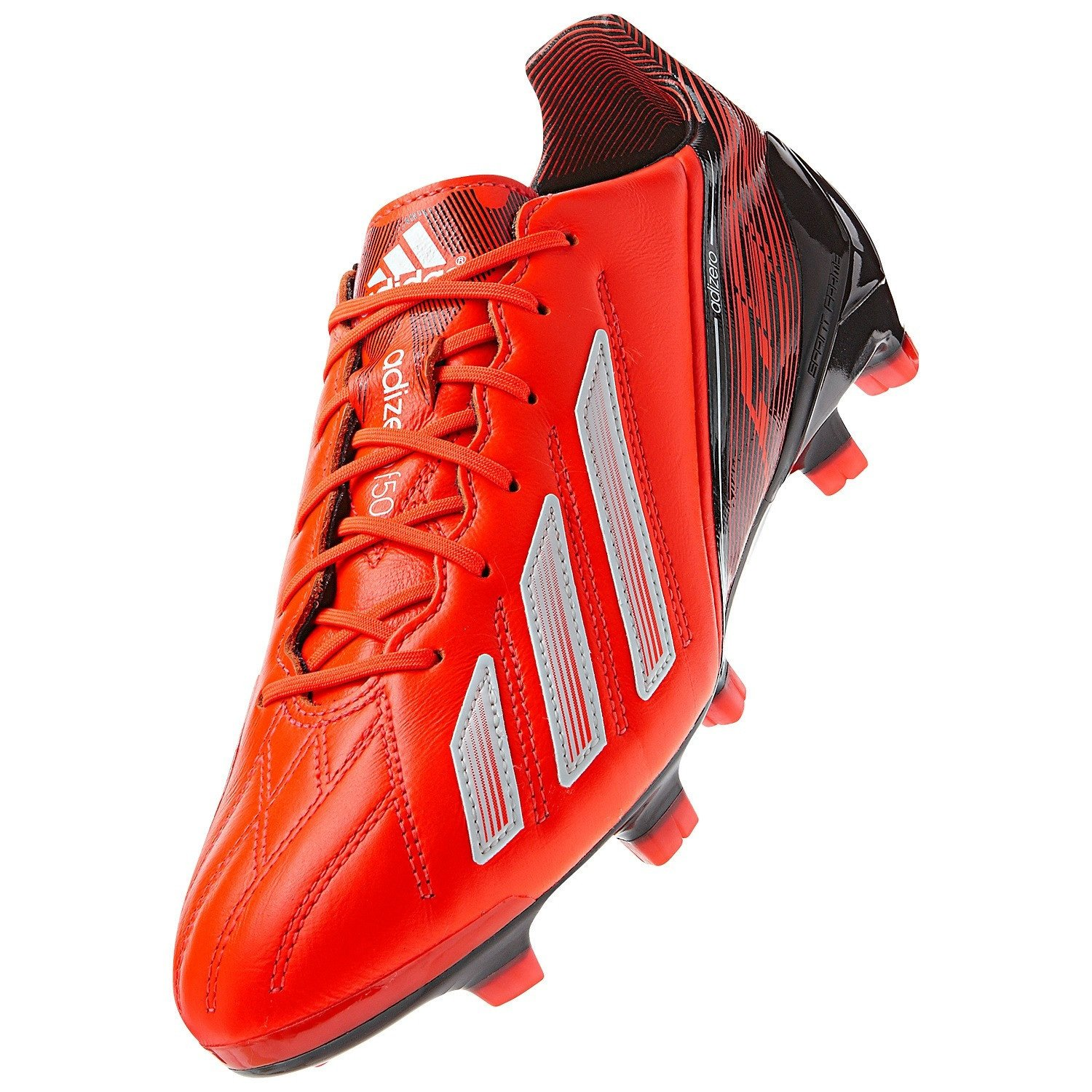 Galleon - Adidas F50 Adizero TRX FG Leather Q33845 Messi Red White Black  Men s Soccer Cleats (Size 11.5) 32b611c65