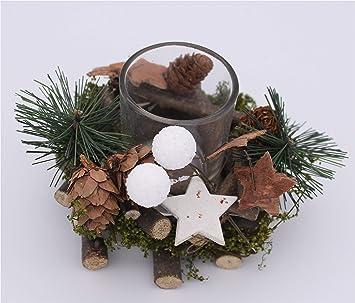 Bb 10 Shop Weihnachtswindlicht Windlichtglas Aus Holz Mit