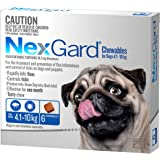 Nexgard, Flea & Tick Monthly Chew, Dog, 4.1-10kg, 6pk