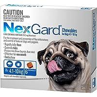 Nexgard, Flea & Tick Monthly Chew, Dog, 4.1-10kg, 6pk