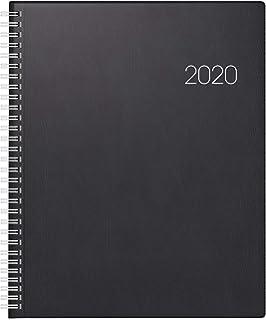 BRUNNEN Buchkalender 2020 Spiralbindung A4 2 Seiten = 1 Woche Kalender 10-78101