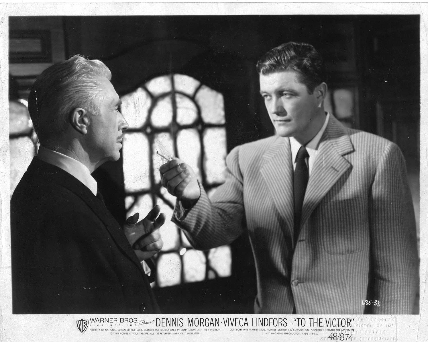 Dennis Morgan To The Victor Original 8x10 Glossy Photo F6326 At Amazon S Entertainment Collectibles Store