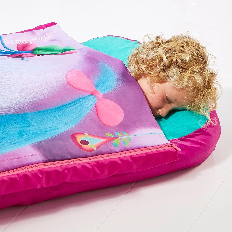 TROLLS - Junior de ReadyBed - Niños de Saco de Dormir y Cama de Aire en un: Amazon.es: Hogar