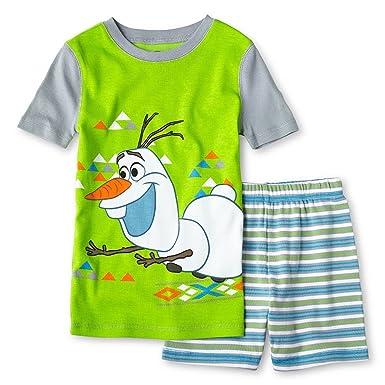 Amazon.com  Disney - Frozen - Olaf 2 Piece Pajama Set for Boys  Clothing 401a8a4cc